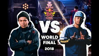 Issei (JP) vs. Dr.Hill (CH) | Top 8 | Red Bull BC One World Final 2018