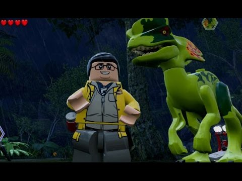 LEGO Jurassic World - Dennis Nedry Unlock Locations (All 3 Character Variations)