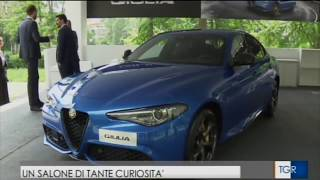 TGR Piemonte - Salone Auto Torino - Parco Valentino 2018