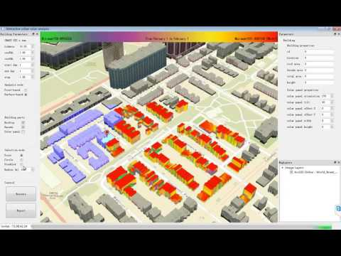 An open-source 3D solar radiation model integrated with a 3D Geographic Information System