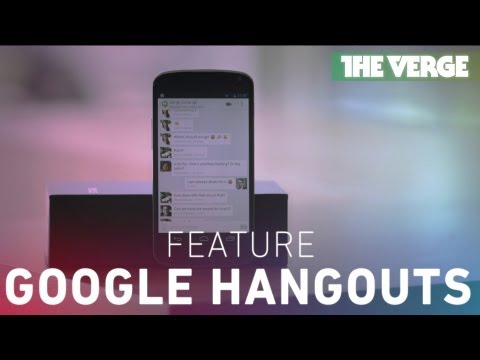 Google I/O 2013: Hangouts and the future of Google's messaging platform