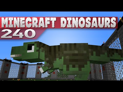 Minecraft Dinosaurs 240 Feathers and Caving