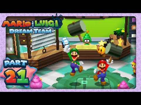 Mario Luigi: Dream Team Part 21 Wakeport