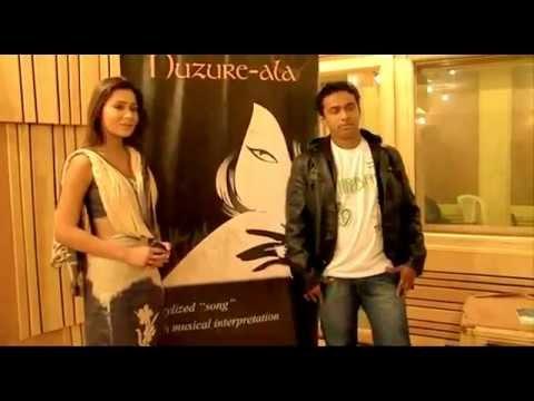 Huzure-Ala song by SARA KHAN & SANTOSH SAWANT