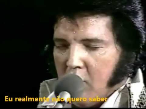 ELVIS PRESLEY/I Really Don't Want To Know (live Rapid City 21 June 1977)legendado