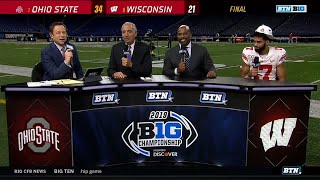 Chris Olave on Buckeyes Big Ten Title | Ohio State