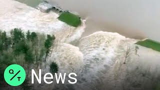 2 Dams Burst In Michigan, Forcing Thousands to Evacuate