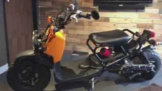 Honda Ruckus GY6 swap kit