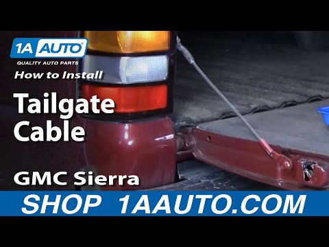 How To Install Replace Tailgate Cable Che