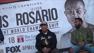Julian Williams   Jeison Rosario Final Press Conference, January 16, 2020