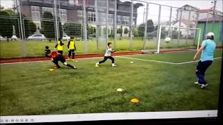 WonderKid Efe Mustak U11 Goalkeeper Training