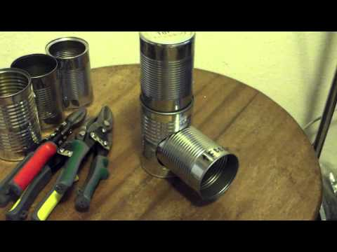 SURVIVAL Build your own rocket stove pt.1