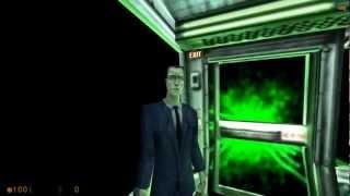 Все кат-сцены с G-man'ом (c half-life по half-life 2 ep2) HD