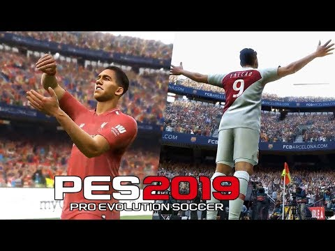 PES 2019 Demo Gameplay Trailer [ New Celebrations ] Ultra HD 4k