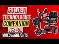 Golden Technologies Companion 3 Wheel Bariatric Scooter GC340D