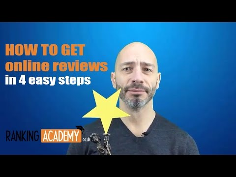 How to get online reviews in 4 easy steps