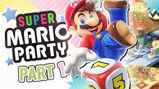 Super Mario Party playthrough part 1