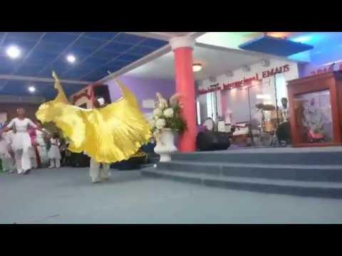Sheila Romero - El Extraordinario Danza Por Alas De Aguila Iglesia Emaus Higuey