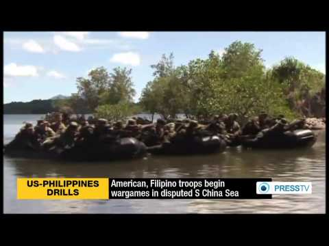 U.S., Philippines Begin Joint Naval Exercises In Disputed South China Sea