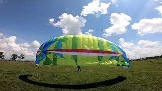 BGD epic paramotor test fly