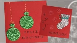 Tarjetas De Navidad Faciles Postales De Navidad With Tarjetas De
