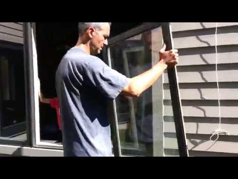 How to Remove and Replace a Jeld-Wen Stationary Window Sash