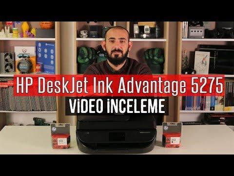 HP DeskJet Ink Advantage 5275 İncelemesi - Çok Fonksiyonlu Yazıcı
