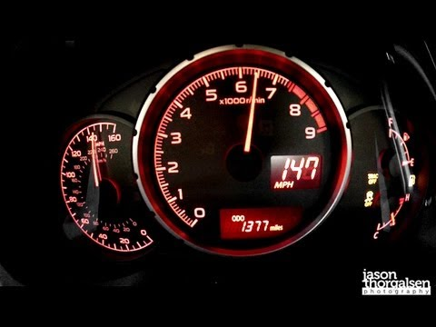 2013 Subaru BRZ top speed run