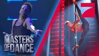 Contemporary vs. Pole Dance - Was setzt sich durch? | Masters of Dance | ProSieben | Audition