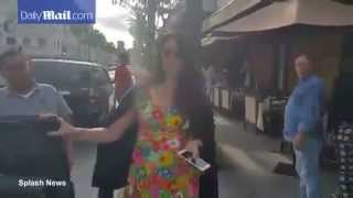 Lana Del Rey has lunch with her sister Caroline in Beverly Hills