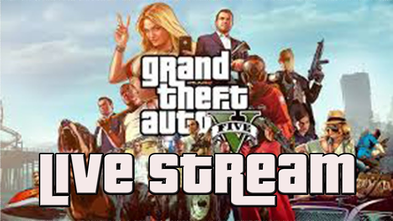 Gta v live stream youtube
