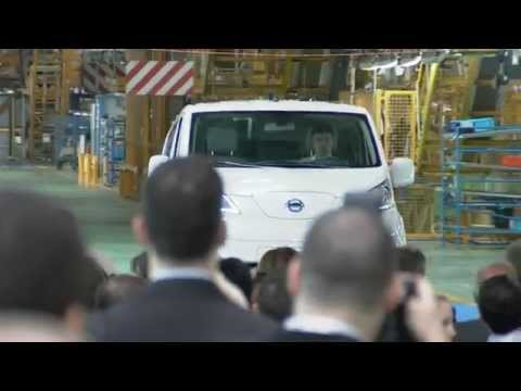 Nissan's First Electric Van Starts Global Production in Barcelona