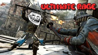 Extremely Salty Kid Rages During 1V1 on For Honor