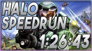 Halo: Combat Evolved Speedrun in 1:26:43