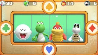 Super Mario Party - Square Off (Boo, Yoshi, Pom Pom, Dry Bones) | MarioGamers