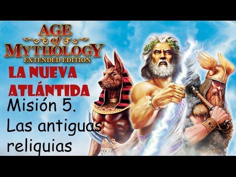 Age of Mythology: Extended Edition | La Nueva Atlántida || 5. Las antiguas reliquias | Titan |