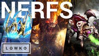 StarCraft 2: ZERG AND PROTOSS NERFS?