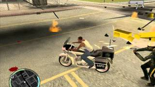 GTA Sa with Gta 4 Hud Gameplay