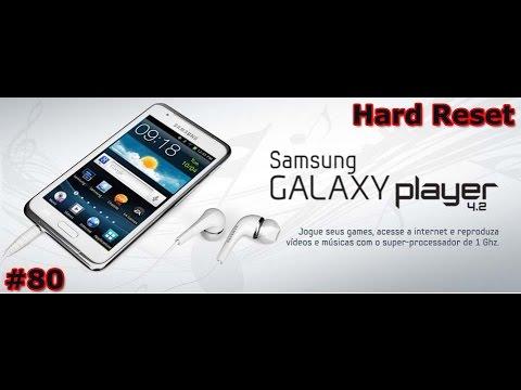Samsung Galaxy Player 4.2 - Review Hard Reset - CUIDADO !!! - PT-BR - Brasil