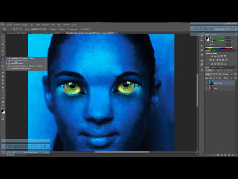 Tutorial Photoshop. Transformarse en Avatar (recomendación: Verlo en HD)