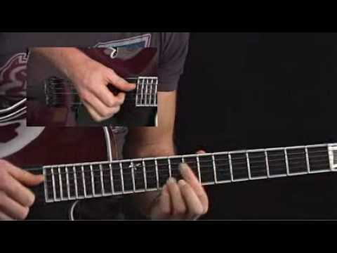 Guitar Lessons - Jazz Combustion - Andreas Oberg - Fast Bebop Comping 1