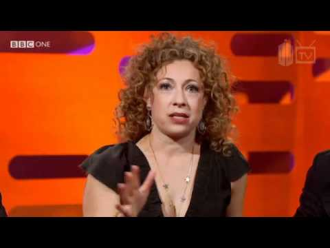 Alex Kingston Graham Norton Show 27-05-11
