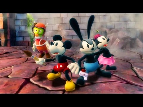 Disney Epic Mickey 2: The Power of Two - O Início