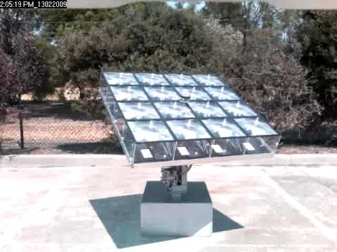 Concentrated Photovoltaic System - CPV