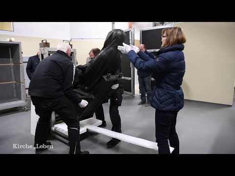 Telgter Pietá im Computer-Tomographen