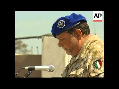 US hands over Herat to Italian ISAF forces, Karzai with Abizaid