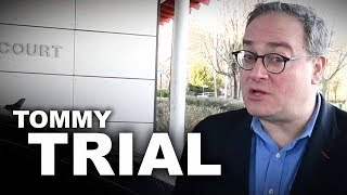 Tommy Robinson sues police for harassment (DAY ONE)   Ezra Levant
