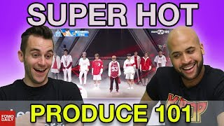 "Produce 101 ""Super Hot"" • Fomo Daily Reacts"