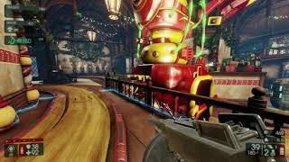 Killing Floor 2 Twisted Christmas Santa's Workshop Tommy Gun Gameplay (I died, got crazy)