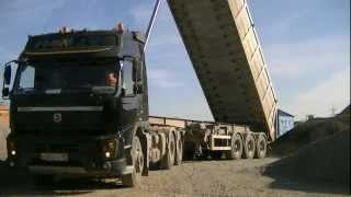 "Volvo FMX ""The Squall""+ Wielton tipper semitrailer"